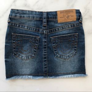True Religion Band Jeans Size 6 Girls